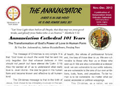 Annunciator Nov/Dec  2011 Issue